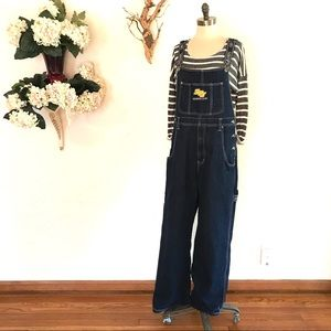 Vintage 90s South-Pole Hip Hop Denim Overalls #817